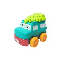 婴帝诺宝宝卡通软胶小汽车婴儿玩具礼盒套装抖音