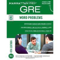 【预订】Word Problems GRE Strategy Guide, 4th Edition