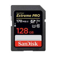 Sandisk闪迪 128G至尊超极速SD卡 128g U3 4K v30 C10 170MB/S SDXC 128G