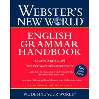 Webster's New World English Grammar Handbook 英文原版 韦氏新世界英语语法