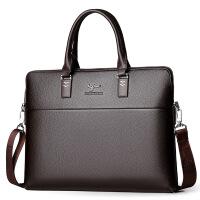 包男士手提包公文包横款单肩包斜挎包电脑包背包