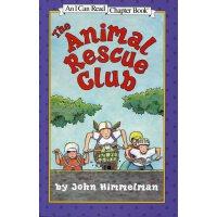 The Animal Rescue Club I Can Read动物救援俱乐部[4-8岁