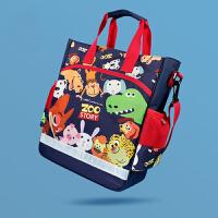 儿童补习袋小学生手提包美术袋拎书袋斜挎包补课书包