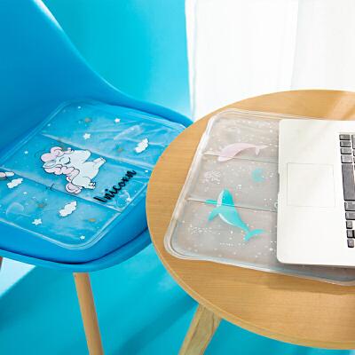 夏天坐垫降温家用学生宿舍冰垫汽车用避暑凉垫椅子冰坐垫