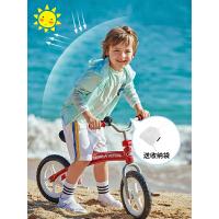 【满299减200】法国PELLIOT户外防晒衣 儿童防紫外线UPF40+超薄皮肤风衣透气防晒服外套