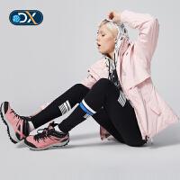 【限时秒杀:349】Discovery非凡探索户外秋冬新品防滑登山鞋女式徒步鞋DFAG92054