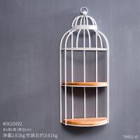 创意美式复古欧式鸟笼家居房间装饰品摆件客厅摆设铁艺落地置物架