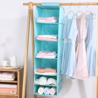 强承重布艺衣柜收纳挂袋 悬挂式衣服收纳袋抽屉式衣物收纳盒