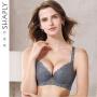 莎莲妮品牌深v性感内衣蕾丝收副乳调整型小胸聚拢中厚文胸女胸罩