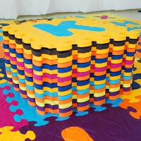 加厚儿童爬行垫宝宝爬爬垫婴儿拼接垫26字母数字游戏泡沫地垫单片 素面单片(随机) 单片30*30*1.2cm