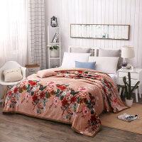 珊瑚绒毯子床单冬季加厚保暖法兰绒毛毯垫被云貂绒床上男女
