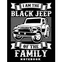 "【预订】Black Jeep of the Family 8.5"" x 11"" Notebook: Blank lin"
