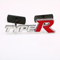 汽车改装装饰标TYPER中网标 字母标车尾贴标车身运动金属贴纸