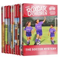 棚车少年52-60册套装 英文原版 The Boxcar Children Mysteries Books 52-60进口英语章节桥梁书 美国经典儿童读物 英文版原版书籍