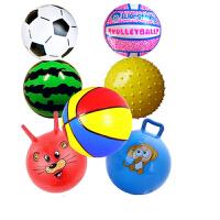 皮球儿童拍拍球幼儿园小皮球宝宝玩具球类小孩子户外运动篮球