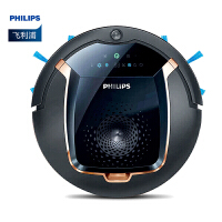 飞利浦(PHILIPS) 扫地机器人家用智能规划吸尘器 全自动清洁扫地机 地宝 深黑和金铜色 FC8820/81