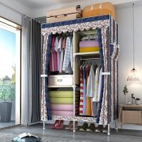 衣柜简易布衣柜家用单人衣橱组装挂衣柜宿舍出租房现代简约经济型