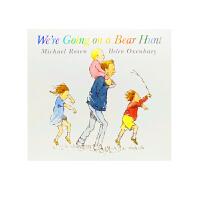 送音频 We're Going on a Bear Hunt 我们一起去猎熊/我们要去捉狗熊 英文原版绘本 吴敏兰 廖