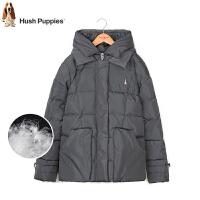【3件3折:248.7元】暇步士童装冬季女童简洁单色羽绒服