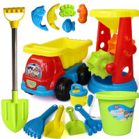 儿童沙滩大号沙漏玩具车 男女宝宝桶铲子挖沙玩沙玩具套装工具戏水