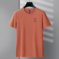 纯棉长袖T恤男士圆领拉架棉不起球不变形纯色修身打底衫 伯克龙男装A8878