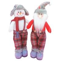 圣诞装饰礼品圣诞老人雪人圣诞节摆件场景布置品装饰