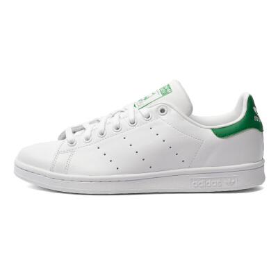 Adidas阿迪达斯男鞋女鞋 史密斯绿尾黑尾休闲板鞋 M20325/M20324 男女子史密斯绿尾黑尾休闲板鞋