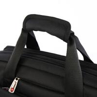防水牛津布商务包电脑包单肩斜挎包男士笔记本包多功能手提公文包