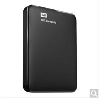 西部数据(WD) Elements 新元素系列 2.5英寸 USB3.0 移动硬盘1T 黑色