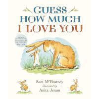 【驰创图书】Guess How Much I Love You Padded Board Book Sam McBrat