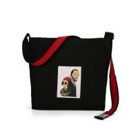 2018新款个性潮流女包甜美印花单肩包大容量手提包休闲子母大包包