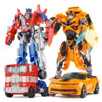机器人模型拼装男孩儿童套装恐龙4 变形玩具金刚5 大黄蜂汽车