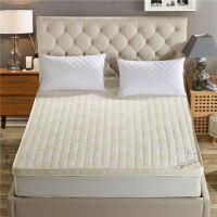 加厚记忆棉床垫榻榻米床褥1.5m1.8m双人1.2米席梦思海绵床垫子 乳白色 6.5公分
