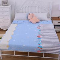 双面斜纹绗缝被床盖全棉水洗空调被儿童卡通纯棉夏被床单
