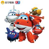 奥迪双钻飞侠大号变形机器人家族全套乐迪小爱酷雷益智玩具