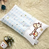 全棉儿童枕头 幼儿园小枕头婴儿宝宝纯棉带枕套枕巾夏1-3岁四季用