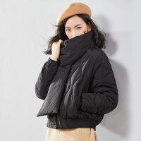 【清仓299元】梵希蔓轻薄羽绒服女短款2018冬装新款宽松羽绒外套