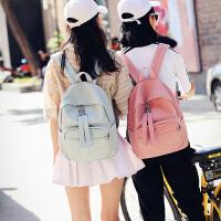 书包女中学生韩版校园潮原宿ulzzang双肩包小清新帆布旅行背包包