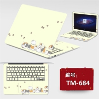 电脑贴纸东芝C40-A C600 C800 C805 L40笔记本贴膜外壳膜保护膜