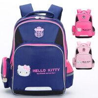 凯蒂猫书包护脊4减负2新小学生女孩1-3年级5双肩包6-12周岁KT背包