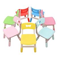 育才 环保塑料宝宝椅子 靠背椅 幼儿园专用儿童学习桌椅加厚