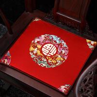 椅垫椅子坐垫餐椅垫中式红木沙发垫子办公室座垫茶桌椅子坐垫定做