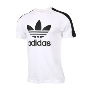 Adidas阿迪达斯三叶草2017新款  BERLIN SS TEE男装运动休闲短袖T恤  BJ9872