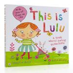 【发顺丰】英文原版绘本 This is Lulu 认识露露 Lulus大明星系列 3-6岁幼儿启蒙绘本 大开翻翻书