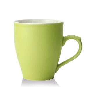 乾唐轩活瓷杯清新田园咖啡杯可爱马克杯办公手柄养生陶瓷茶水杯子