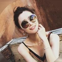范冰冰同款墨镜女潮2018新款韩版潮复古原宿风网红眼镜近视太阳镜