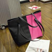 大包女2018新品大容量托特包欧美时尚购物袋包手提单肩斜跨包包潮