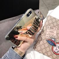 奢华腕带烫金苹果x手机壳iphone8plus时尚xsmax女xr硅胶7保护套6s 苹果xsmax JADiOR