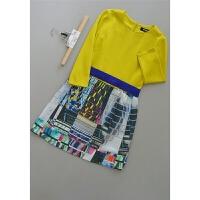 巴[N176-224]专柜品牌1199正品羊毛桑蚕丝女装连衣裙0.56KG