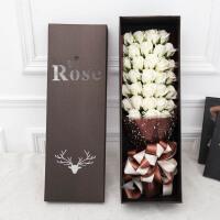 七夕情人节香皂玫瑰花束礼盒表白送女友闺蜜情侣浪漫生日创意礼物
